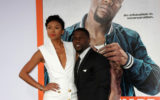 "Christopher SeanLOS ANGELES - MAR 25:  Eniko Parrish, Kevin Hart at the ""Get Hard"" Premiere at the TCL Chinese Theater on March 25, 2015 in Los Angeles, CA"